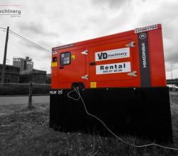 generator stroomaggregaat huren