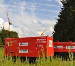 generator stroomaggregaat te huur VD Machinery Rental