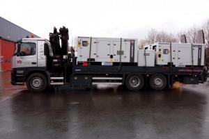 Nieuwe generatoren voor Cofely Fabricom