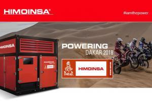 Himoinsa officiële stroomleverancier van DAKAR 2018
