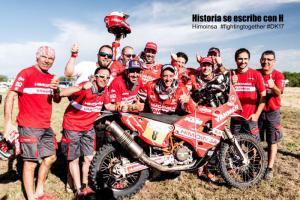 Podium voor HIMOINSA Racing Team in Dakar 2017