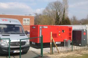Emergency generator for care centre