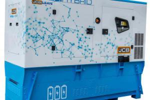 JCB hybride stroomgenerator