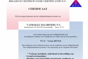 VCA ceritificaat